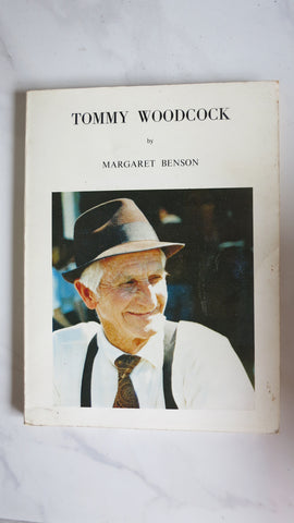 Tommy Woodcock by Margaret Benson, Large Paperback, Phar Lap, Reckless, Trainer
