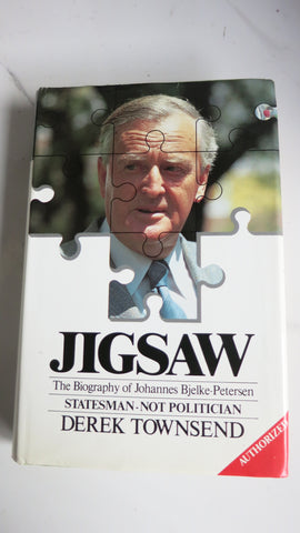 Jigsaw by Derek Townsend, SIGNED, 1st Ed, HC DJ, Joh Bjelke-Petersen Queensland