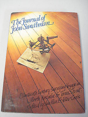 The Journal of John Sweatman, 1st Ed, Large HC DJ, Peter Corris, Torres Strait