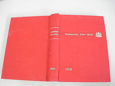 Tasmanian Year Book 1968 by R Lakin, Bureau of Statistics, Tasmania Census No. 2