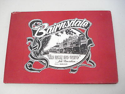Bairnsdale by Jan Davidson, Heather Smith, Large HC DJ, Sketches, Gippsland