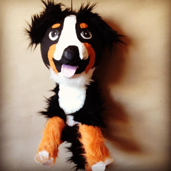 custom dog pinata saint bernard