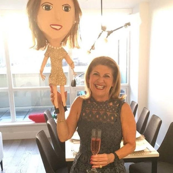 Caricature Piñatas, Full-Body