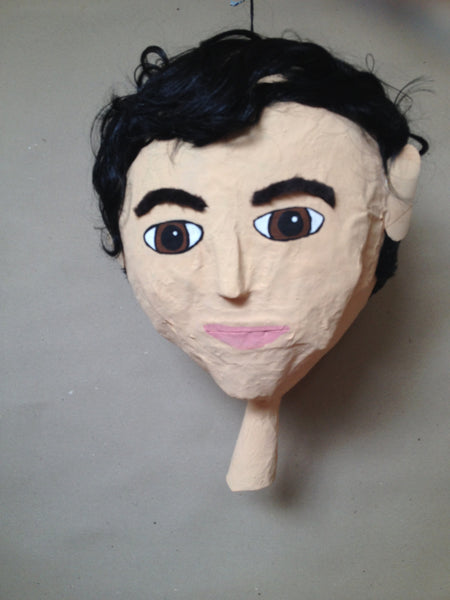custom pinata male head