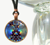 Chakra Jewelry Reiki Necklace Spiritual Energy Pendant Necklace Aura