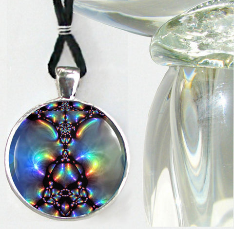 Energy Necklace Chakra Jewelry Reiki Healing Art Aura