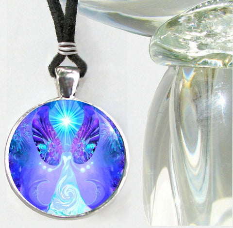 Angel Necklace, Chakra Art