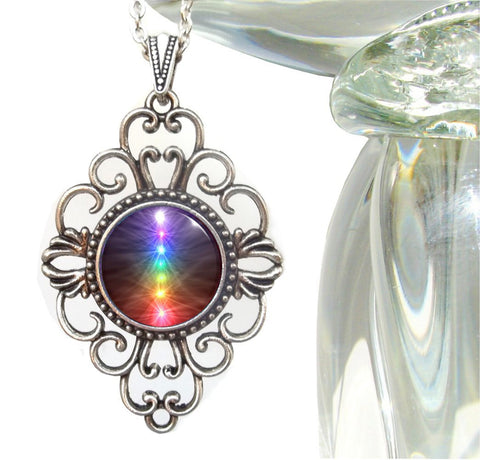 "Unique Jewelry Reiki Healing Energy Art ""Chakra Balance"""
