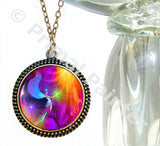 Energy Healing Chakra Necklace Reiki Angel Pendant The Gift