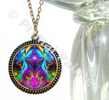 Violet Flame Necklace