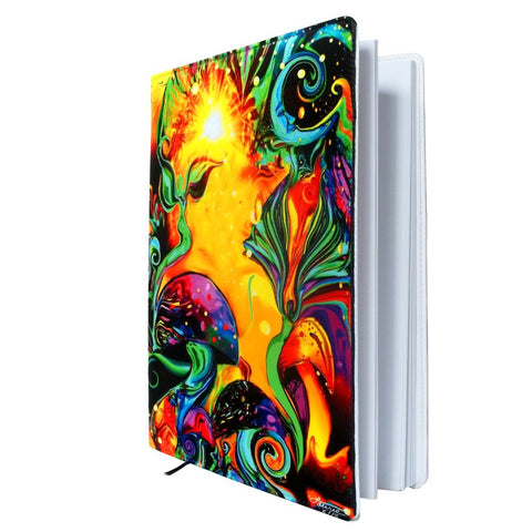 Psychedelic Art Notebook, Reiki Healing, Chakra Sketchbook
