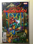 Invincible Iron Man #1 (2015) Bradshaw Young Guns Variant, Signed Marquez