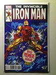 Invincible Iron Man #1 (2015) Timm Classic Variant, Signed Marquez