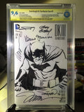 DKIII #1, CBCS 9.6 NM+, Batman Sketch & Signed 6X, Frank Miller