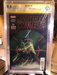 Star Wars #6, CBCS 9.8 NM/Mint Signed