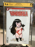 Vampirella #1 9.6 NM Signed and Sketched Cat Farris