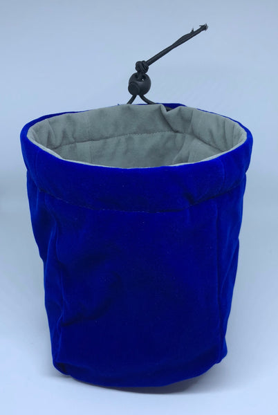 Geekbag! Large Reversible Dice Bag, Blue/Grey