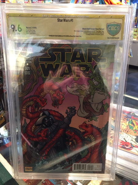 Star Wars #1, CBCS 9.6 NM+, Beach Ball Variant, Signed