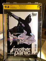 Mother Panic #1 9.8 NM Edwards Variant Signed 2x