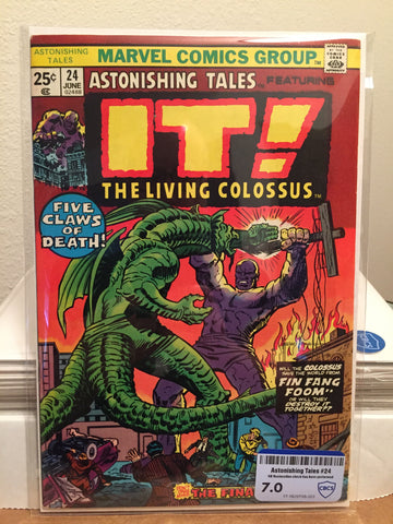 Astonishing Tales #24 F/VF CBCS 7.0