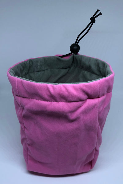 Geekbag! Large Reversible Dice Bag, Pink/Grey