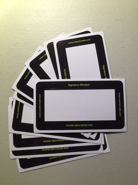 Signature Window (10 stickers)