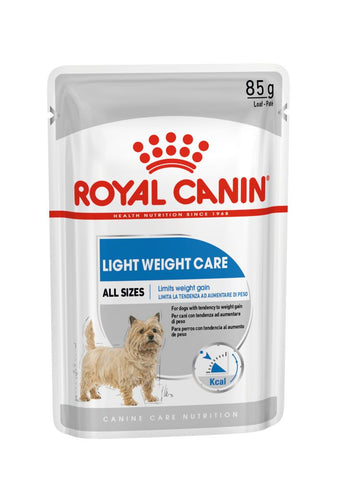 1 stk. 85gr Light Weight blautmatsbréf frá Royal Canin