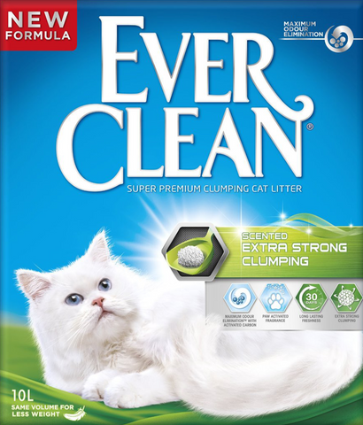 Ever Clean - Extra Strong Clumping Scented 10L