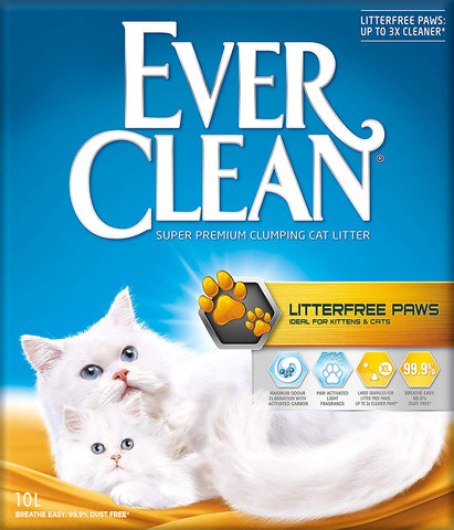 Ever Clean - Litterfree Paws (áður Less Trail) 10L