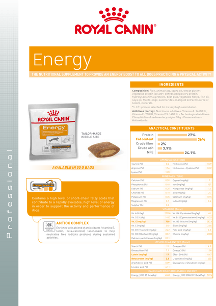 Nutritional Sup Energy 50g