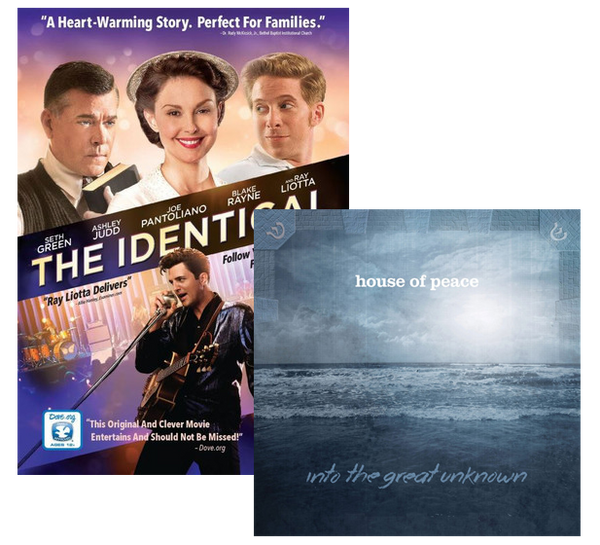 The Identical (DVD) + House of Peace Bundle