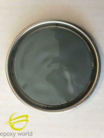 Professional Dark Grey GELCOAT by Epoxy World, no wax, 16-128 oz w/ MEKP