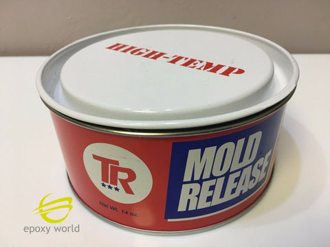 TR HI TEMP Mold Release Wax 14oz