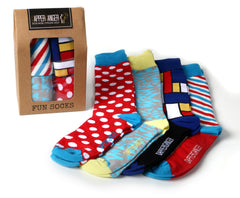 Dapperganger Fun Socks Barber Pack