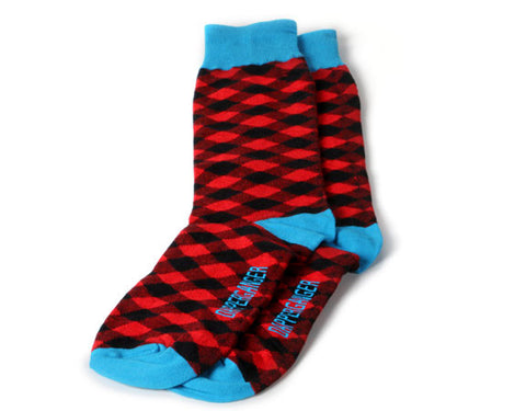 DapperGanger Fun Socks - 4 Pack - LUMBERJACK EDITION