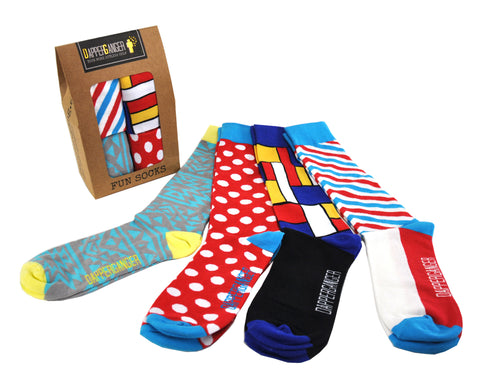 Fun Socks Barber design