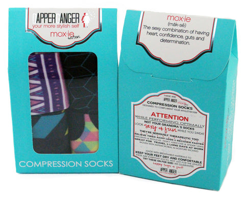 Womens Compression Socks - 4 Pack Navajo Edition