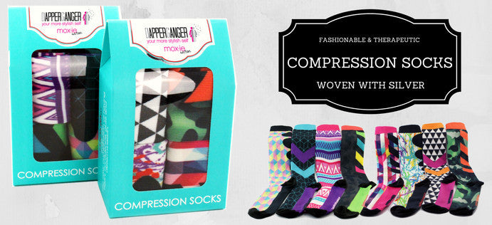 Moxie Compression Socks for Women