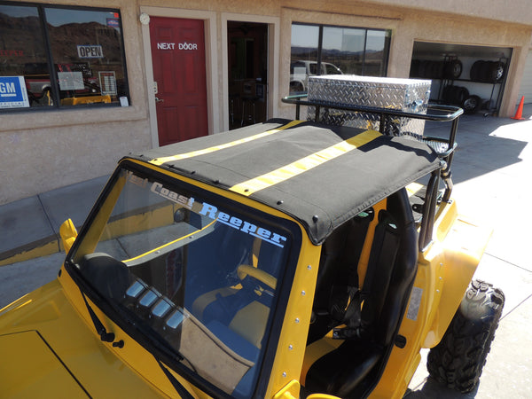 REBEL - OREION - DURUXX  buggy 2 door Sunbrella™ Top With Strips