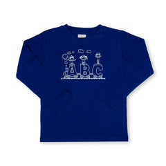 ABC Train Long Sleeve Tee