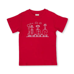 ABC Train Short Sleeve Tee