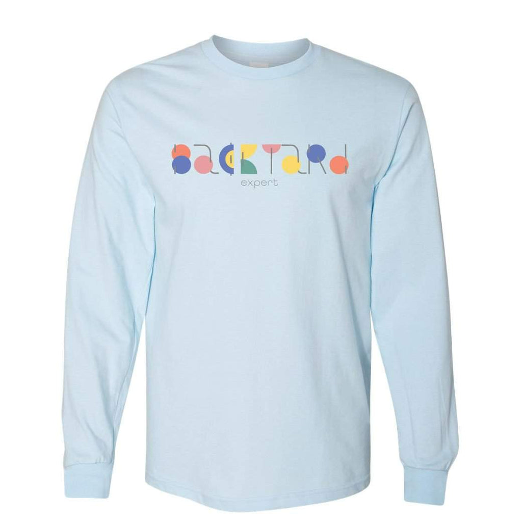 Adult Backyard Expert Long Sleeve Tee