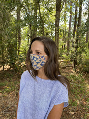 Handmade Fabric Mask 4 Pack
