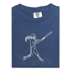 Softball Player Short Sleeve Tee