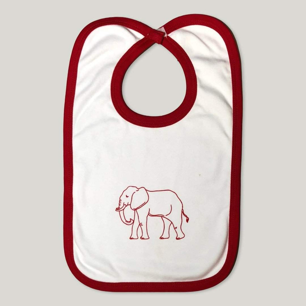 Elephant Infant Bib