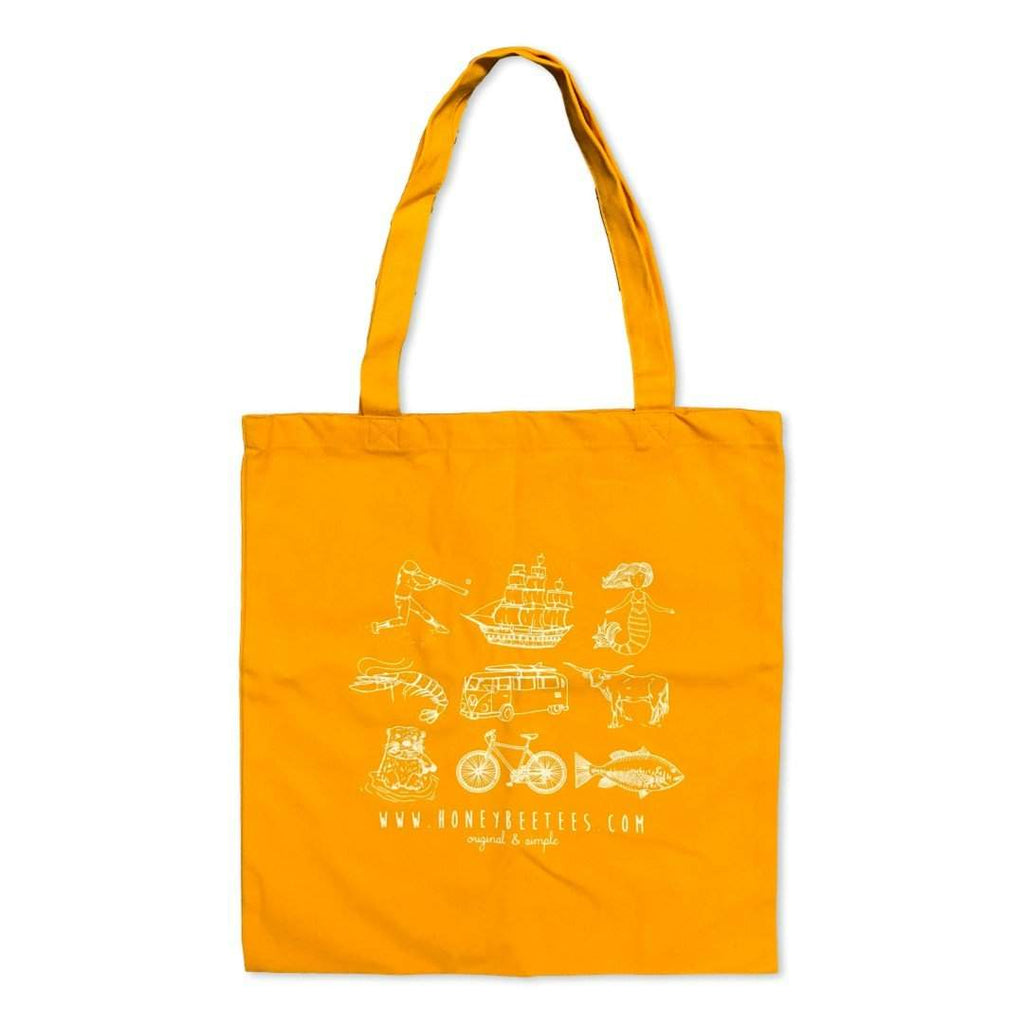 HBT Logo Yellow Tote Bag