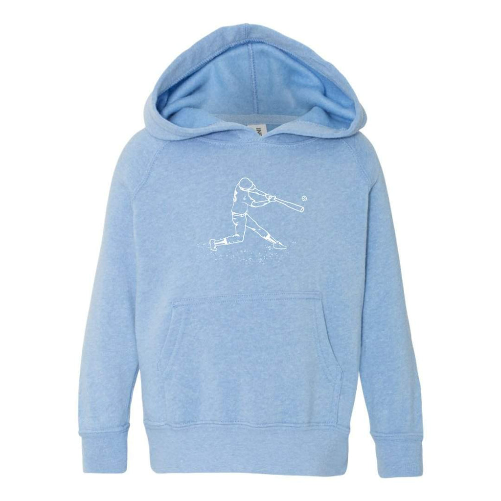 Baseball Player Hooded Sweatshirt
