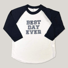 Best Day Ever Adoption 3/4 Sleeve Raglan Tee