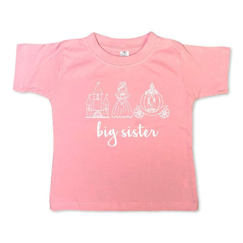 Big Sister Princess Short Sleeve Tee