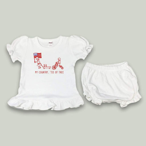 Patriotic Parade Bloomer Set
